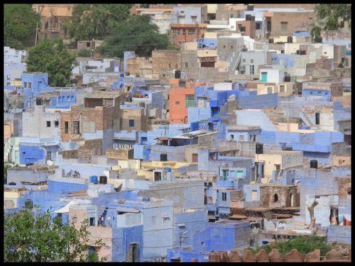 La ville bleue JODHPUR 13