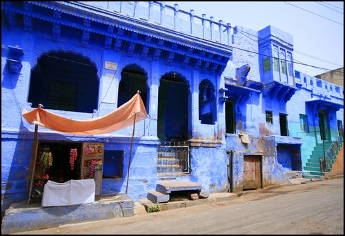 La ville bleue JODHPUR D56