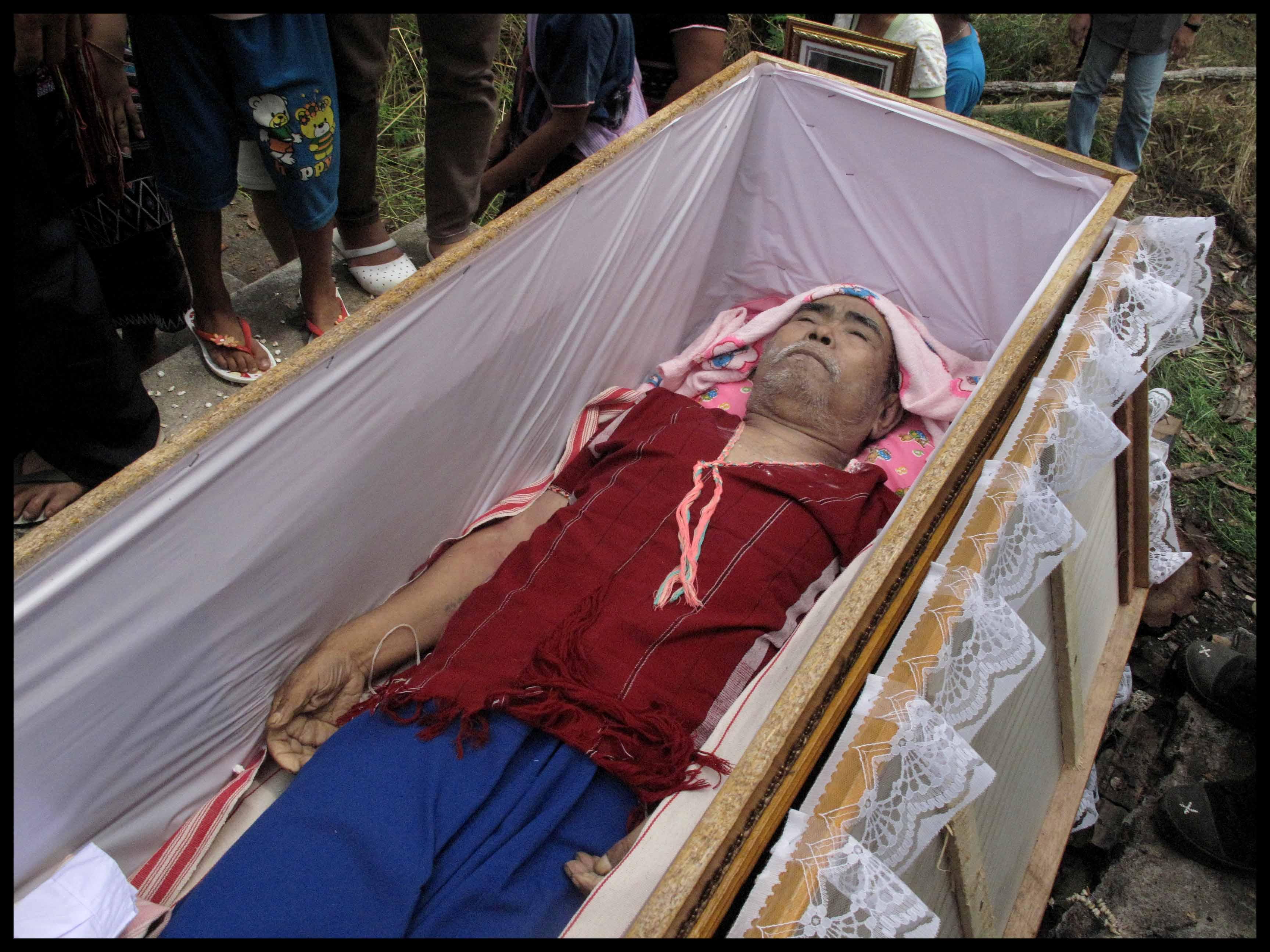 cercueil 15 ans apres