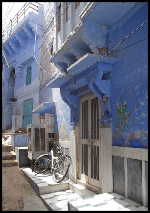 La ville bleue JODHPUR 22
